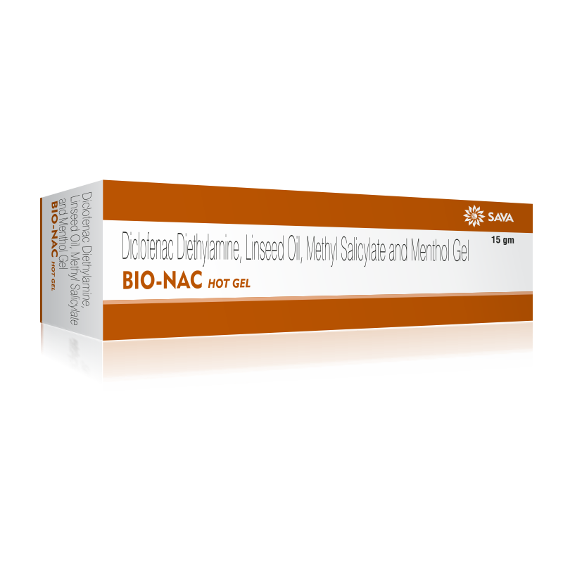 BIO NAC HOT GEL